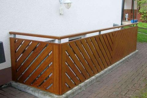 D178-Diagonal-Aluminium-Balkone-Balkongelaender-Rieb-Balkone-Wartungsfrei-Gelaender-Nie-mehr-Streichen
