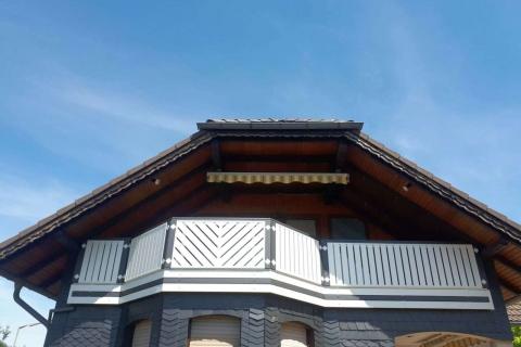 D199-Diagonal-Aluminium-Balkone-Balkongelaender-Rieb-Balkone-Wartungsfrei-Gelaender-Nie-mehr-Streichen