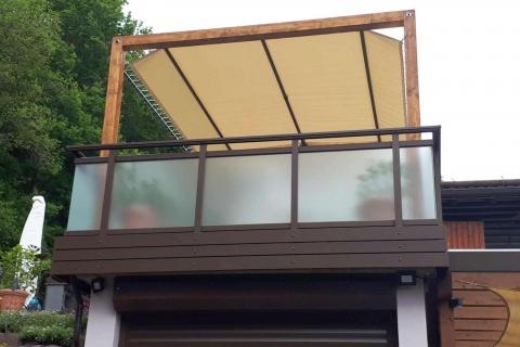 G178-Glas-Aluminium-Balkone-Balkongelaender-Rieb-Balkone-Wartungsfrei-Gelaender-Nie-mehr-Streichen