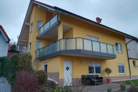 G189-Glas-Aluminium-Balkone-Balkongelaender-Rieb-Balkone-Wartungsfrei-Gelaender-Nie-mehr-Streichen