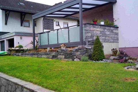 G195-Glas-Aluminium-Balkone-Balkongelaender-Rieb-Balkone-Wartungsfrei-Gelaender-Nie-mehr-Streichen