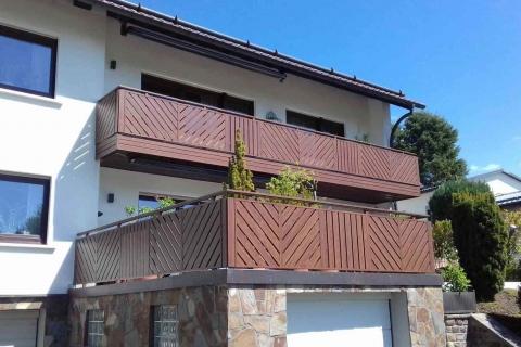 D032-Diagonal-Aluminium-Balkone-Balkongelaender-Rieb-Balkone-Wartungsfrei-Gelaender-Nie-mehr-Streichen