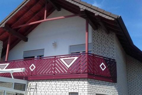 D049-Diagonal-Aluminium-Balkone-Balkongelaender-Rieb-Balkone-Wartungsfrei-Gelaender-Nie-mehr-Streichen