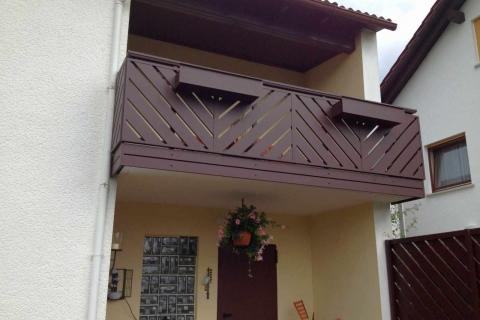 D059-Diagonal-Aluminium-Balkone-Balkongelaender-Rieb-Balkone-Wartungsfrei-Gelaender-Nie-mehr-Streichen