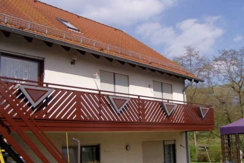 D098-Diagonal-Aluminium-Balkone-Balkongelaender-Rieb-Balkone-Wartungsfrei-Gelaender-Nie-mehr-Streichen