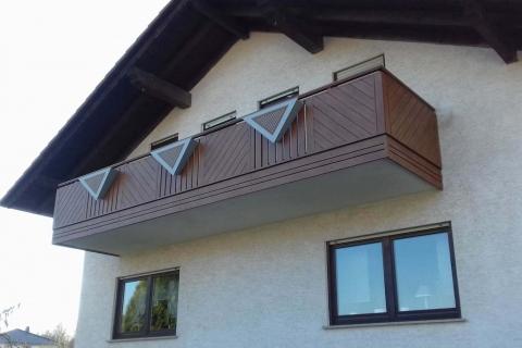 GS195-Aluminium-Balkone-Balkongelaender-Rieb-Balkone-Wartungsfrei-Gelaender-Nie-mehr-Streichen