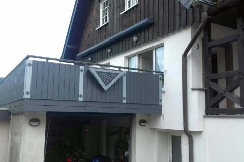 GS197-Aluminium-Balkone-Balkongelaender-Rieb-Balkone-Wartungsfrei-Gelaender-Nie-mehr-Streichen