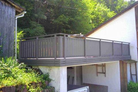 S181-Aluminium-Balkone-Balkongelaender-Rieb-Balkone-Wartungsfrei-Gelaender-Nie-mehr-Streichen