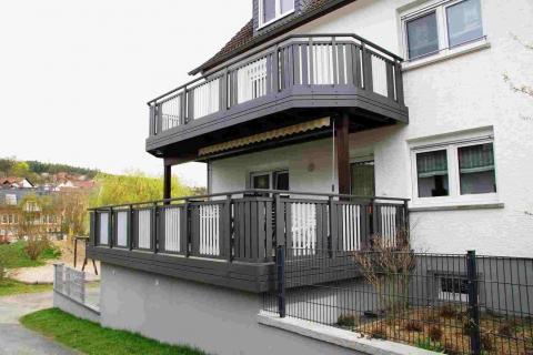 S191-Aluminium-Balkone-Balkongelaender-Rieb-Balkone-Wartungsfrei-Gelaender-Nie-mehr-Streichen