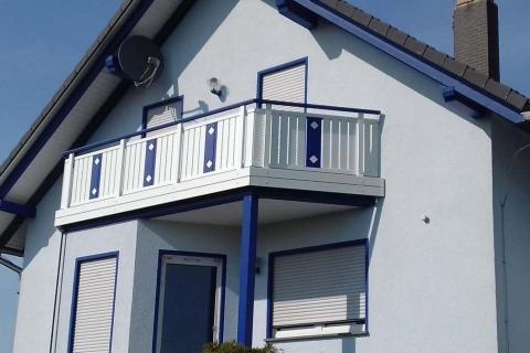 S196-Aluminium-Balkone-Balkongelaender-Rieb-Balkone-Wartungsfrei-Gelaender-Nie-mehr-Streichen