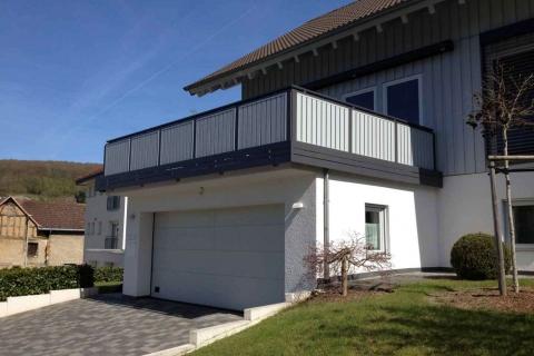 S199-Aluminium-Balkone-Balkongelaender-Rieb-Balkone-Wartungsfrei-Gelaender-Nie-mehr-Streichen