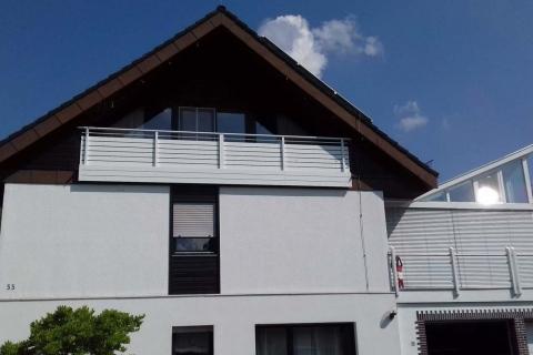 W181-Waagerecht-Aluminium-Balkone-Balkongelaender-Rieb-Balkone-Wartungsfrei-Gelaender-Nie-mehr-Streichen